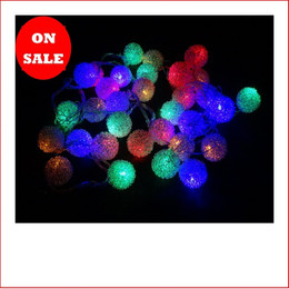 32 LED Wire Ratten Balls Multi
