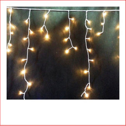 The 300 LED Icicle Warm White Christmas Lights are a great size to decorate a back drop. Decorating with The 300 LED Icicle Warm White Christmas Lights is endless as the led lights can be used Indoor/Outdoor and you can create to your imagination. The 300 LED Icicle Warm White Christmas Lights can be used for weddings as the warm led lights are very popular for special events, they can be installed in the back drop or against any wall, door entry or just out of the ceiling. The beauty of the LED Lights is that they are energy efficient. Very popular for christmas displays where thay are attached on the gutters of there house.