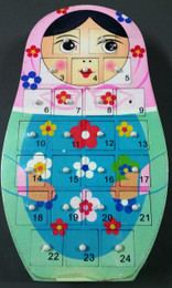Babushka Advent Calendar - Flowers