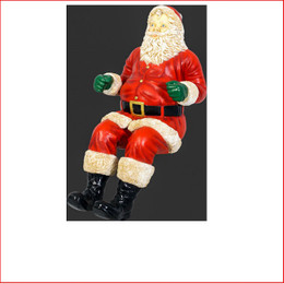The Polyresin Santa for Sleigh Jumbo, a beautiful centre piece in your christmas display, large christmas decor at its best, also available is a sitting Sleigh Jumbo, Reindeers to pull the sleigh, The Santa for Sleigh Jumbo is used in shopping centres and at many events where santa can't attend and the sitting Santa can take its place.