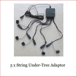Under Tree Adaptor available for purchase to add 5 string lights and perfect to decorate a Christmas Tree