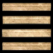 Light Emperador Marble Ogee 1 Chairrail Molding Polished