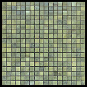 Verde Laguna Green Marble 5/8x5/8 Mosaic Tile Polished