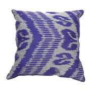 Ikat Pillow Nate Purple