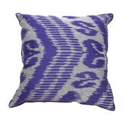 Ikat Pillow Nate Purple