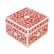 Jewelry Box Indian Red