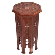 Syrian Tall Accent Table