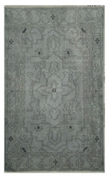 Over-dyed Rug, Grey