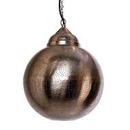 Moroccan Silver Lamp
