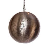 Moroccan Metal  Lamp , Hanging Round