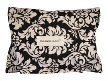 The Diaper Clutch - Black Damask