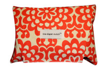 The Diaper Clutch - Cherry Wallflower