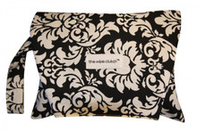 The Wipe Clutch - Black Damask