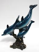 Triple Dolphin Figurine