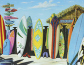 Surf Shack Surfboards Metal Sign