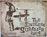 The Endless Summer 1964 Metal Sign