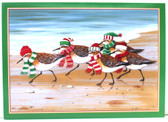 Sandpipers on the Beach Christmas Cards