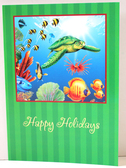 Sea Turtle Holiday Cards