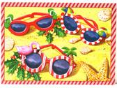 Festive Sunglasses Christmas Cards