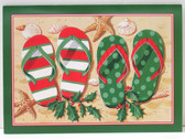 Holiday Flip Flops