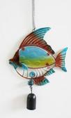 Metal Colorful Bouncy Fish