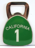 California 1 Bottle Opener Magnet