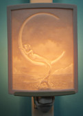 Mermaid on Moon Night Light