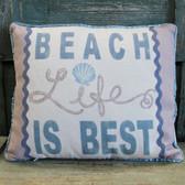 Beach Life is Best Pillow