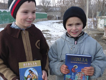 Children's Bible for Moldova