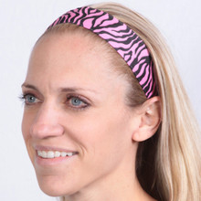 SALE Thick Animal Instincts Hot Pink Zebra