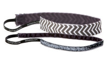 2 Pack Thin Keep Calm & Chevron Gray, Minnie Sparkle Gunmetal
