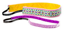 2 Pack Thin Ikat White, Minnie Frost Neon Powerful Purple