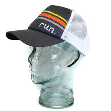 BOCO Gear Run Iron Gray Orange Foam Technical Trucker