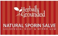 Herbally Grounded Natural Sporin Salve 2 oz