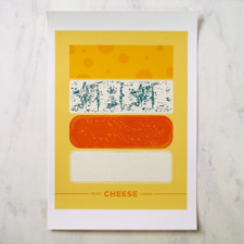 Bklyn Larder Cheese Poster