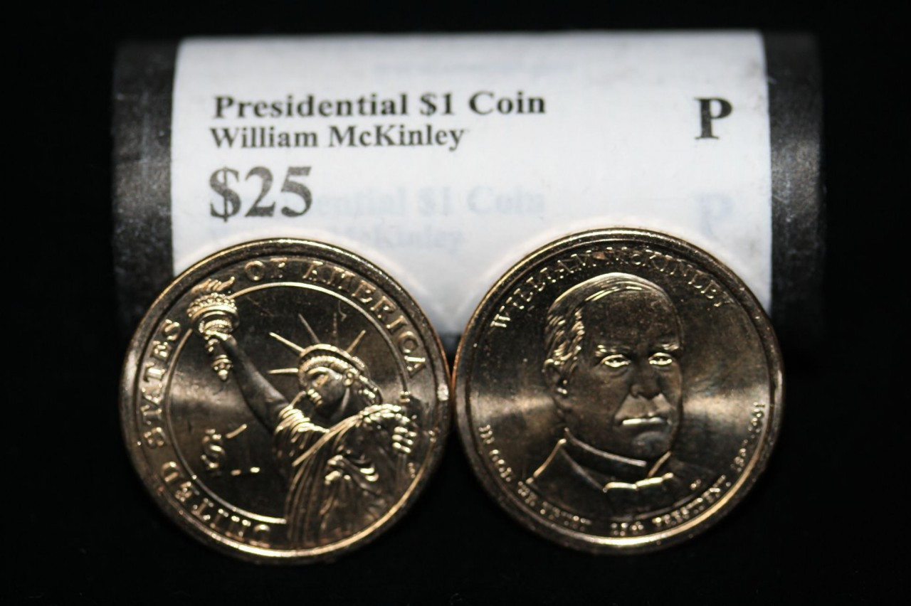 Presidential Dollar William Mckinley 25th President Quot P