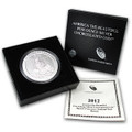 2012 5oz Silver ATB-P MINT W/ BOX PAPERS (HAWAII VOLCANO)