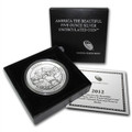 2012 5oz Silver ATB-P MINT W/ BOX PAPERS (DENALI NATIONAL)