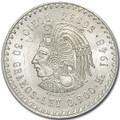 """1947-1948 Mexican Silver 5 Pesos """"Cuauhtemocs"""""""