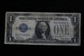 $1 1928 SILVER CERTIFICATE (BLUE SEAL) PAPER MONEY NOTE #3589