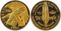 1987 $5 Commemorative Gold (Constitution) -- PROOF