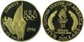1996 $5 Commemorative Gold (Flag Bearer) -- PROOF