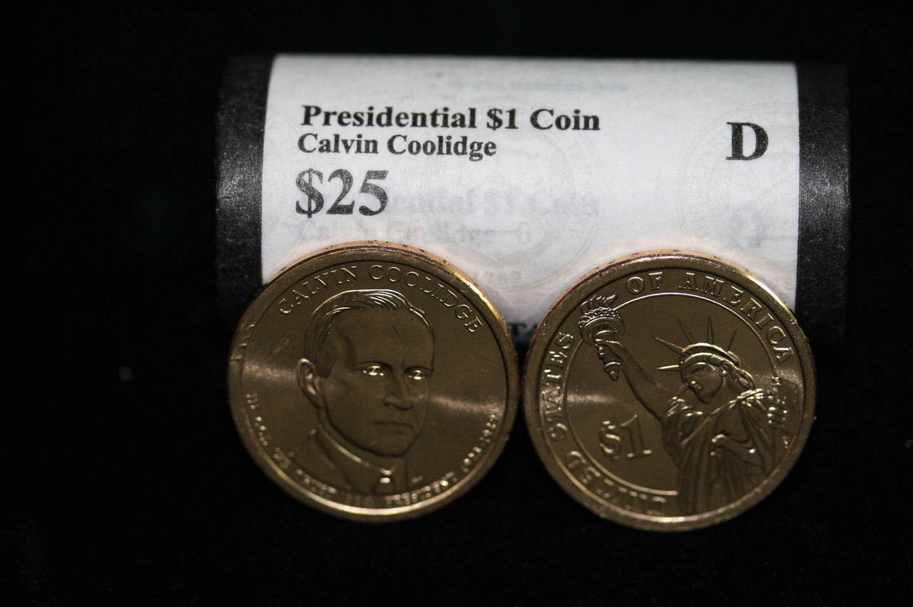 Presidential Dollar Calvin Coolidge 30th President Quot D
