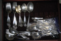 81 PIECE STERLING SILVER WALLACE SERVING SET -- 81 PIECES -- W/ BOX