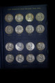 1948 - 1963 P D S FRANKLIN HALF DOLLAR COMPLETE CIRCULATED SET 35 Coins