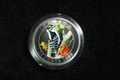 2008 CANADA 25-CENT DOWNY WOODPECKER COIN