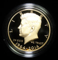 1964-2014 W GOLD KENNEDY HALF COMMEMORATIVE HIGH RELIEF W/ BOX PAPERS MINT