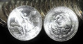 1984 MEXICO LIBERTAD 1oz .999 FINE SILVER ROUND (FRESH UNCIRCULATED COIN FROM ROLL)