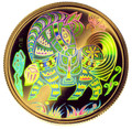 2002 CANADA $150 YEAR OF THE HORSE GOLD HOLOGRAM COIN (0.328 TROY OZ GOLD)