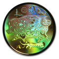 2007 CANADA $150 YEAR OF THE PIG LUNAR HOLOGRAM GOLD COIN (0.285 TROY OZ GOLD)